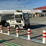 Air France начала тестировать беспилотный багажный трактор